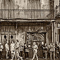Preservation Hall Sepia by Steve Harrington