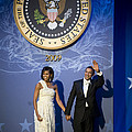 President And Michelle Obama by had J McNeeley