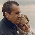 President And Pat Nixon In An by Everett