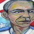 President Barack Obama  by Derrick Hayes
