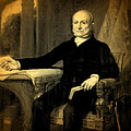 President John Quincy Adams Portrait And Signature by Design Turnpike