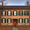 President Lincoln Home Springfield Illinois by Steve Gadomski