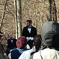President Lincoln Speaks by Kathy Barney