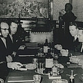 President Tito And Norwegian Premier Hold Political Talks by Retro Images Archive