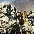 Presidential Rocks by Judy Hall-Folde