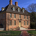 President's House College Of William And Mary by Jerry Gammon