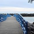 Presque Isle Pier by Linda Kerkau