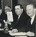 Press Conference On Defence White Paper by Retro Images Archive