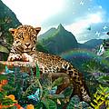 Pretty Jaguar by Alixandra Mullins