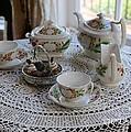 Pretty Tea Set by Carol Groenen