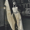 Preview Of Red Cross Fashion Display In London. All To Show by Retro Images Archive
