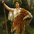 Priestess Bacchus by John Collier
