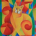 Primary Cat II by Pamela Clements