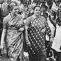 Prime Minister Indira Gandhi by Underwood Archives
