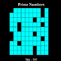 Prime Numbers As Invisible 701  797 by Louis J Boston II