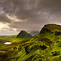 Primeval Earth - Isle Of Skye Panorama by Mark E Tisdale