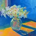 Primroses In Spring Light - Still Life by Patricia Awapara