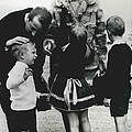 Prince Albert And Princess Paola Return From Canada by Retro Images Archive
