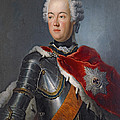 Prince Augustus William Oil On Canvas by Antoine Pesne