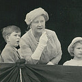 Prince Charles And Princess Anne Look For Their Lither To by Retro Images Archive