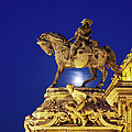Prince Eugene Of Savoy Statue At Night by Artur Bogacki