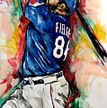 Prince Fielder by Artist Ahmed Salam