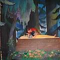 Prince Kisses Snow White by Zina Stromberg