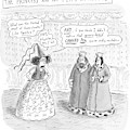 Princes Complains About Thread Count Of Sheets by Roz Chast