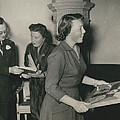 Princess Beatrix Of The Netherlands Receives Her Birthday by Retro Images Archive