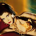 Princess Leia Star Wars Episode Vi Return Of The Jedi 1 by Tony Rubino