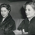Princess Margaret At The Theatre by Retro Images Archive
