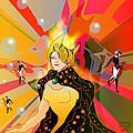 Princess Of Lightbeams by Grant  Wilson