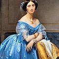 Princesse Albert De Broglie Nee Josephine Eleonare Marie Pauline De Galard De Brassac De Bearn by Jean Auguste Dominique Ingres