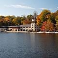 Princeton Crew Boathouse Princeton New Jersey by George Oze