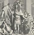 Print Of Aegidius Le Maistre 1665, Upper Part by Nicolas Pitau I And Jean Lepautre