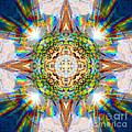 Prism Rainbow Mandala by Susan Bloom