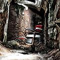 Prison Barbershop by Bill Cannon