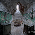 Prison Cell At Eastern State Penitentiary by Michael Ver Sprill