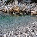 Pristine Water At Calanque D'en Vau In Cassis France by Luis Moya