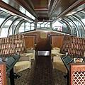 Private Dome Rail Car  by Joseph Baril