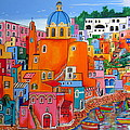 Procida Houses by Roberto Gagliardi