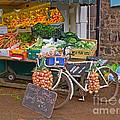 Produce Market In Corbridge by Louise Heusinkveld