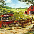 Produce Stand by Lee Piper