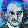 Professor Einstein by Frank Bright
