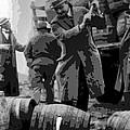 Federal Prohibition Agents Destroy Liquor 1923 by Daniel Hagerman