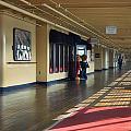 Promenade Deck Queen Mary Ocean Liner 01 by Thomas Woolworth