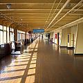 Promenade Deck Queen Mary Ocean Liner 02 by Thomas Woolworth