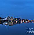 Promenade In Blue  by Spikey Mouse Photography