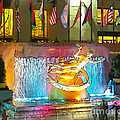 Prometheus Sculpture In Rockefeller Center  by Kerri Farley