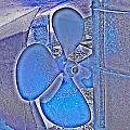 Propeller Blue by Sharon Lisa Clarke